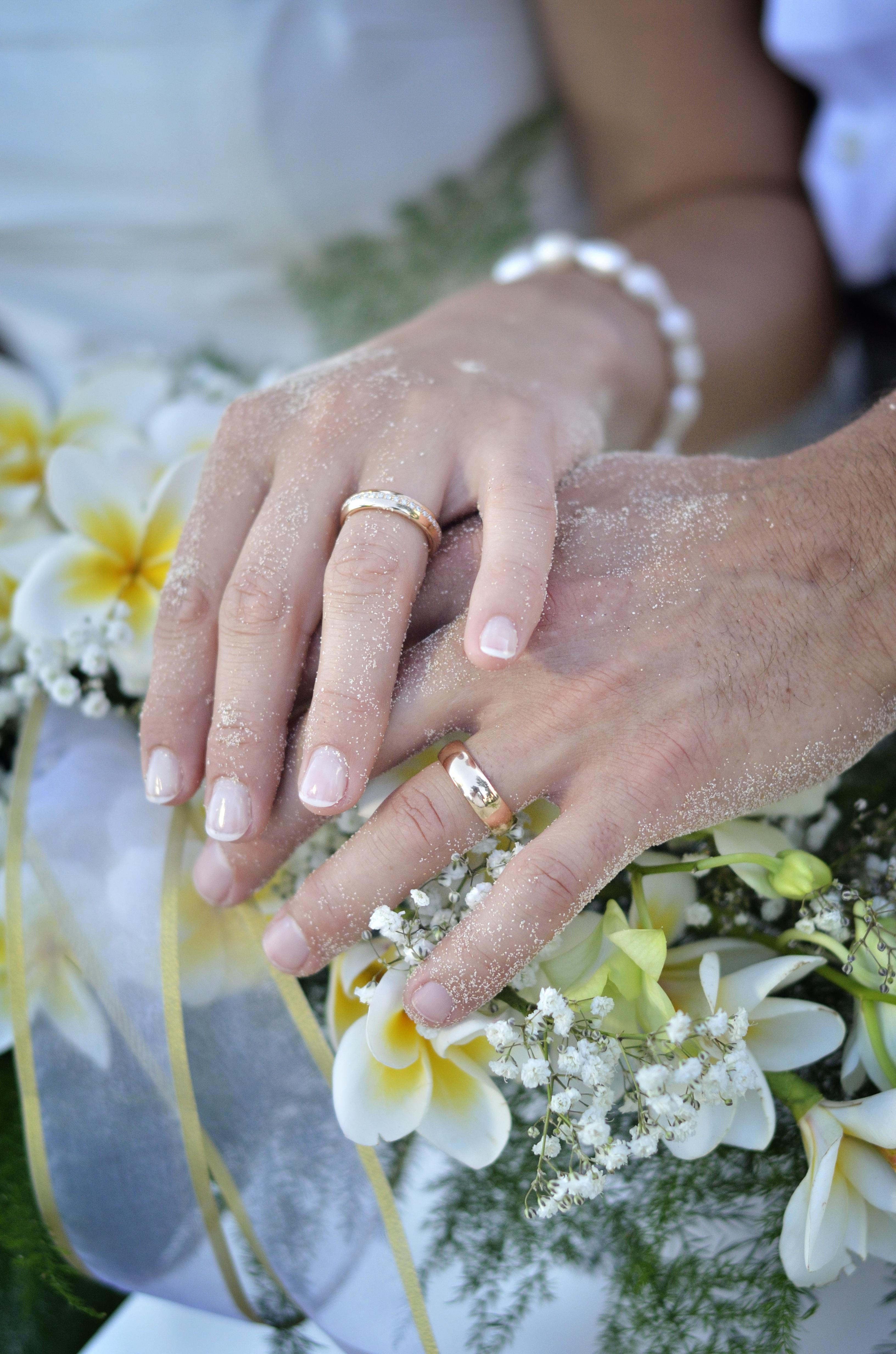 wedding rings, yg